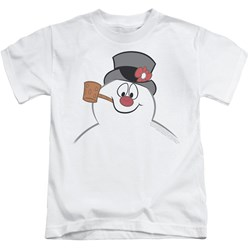 Frosty The Snowman - Youth Frosty Face T-Shirt