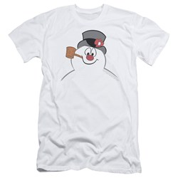 Frosty The Snowman - Mens Frosty Face Slim Fit T-Shirt