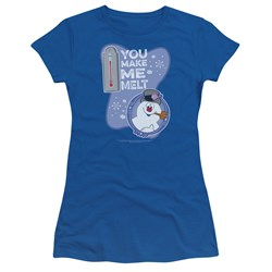 Frosty The Snowman - Juniors Melt T-Shirt