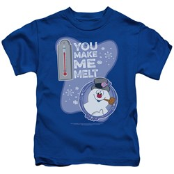 Frosty The Snowman - Youth Melt T-Shirt