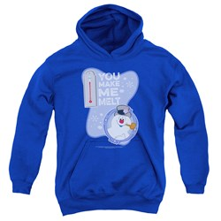 Frosty The Snowman - Youth Melt Pullover Hoodie
