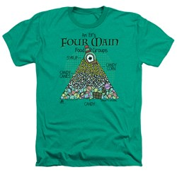 Elf - Mens Food Pyramid Heather T-Shirt