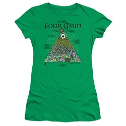 Elf - Juniors Food Pyramid T-Shirt