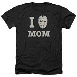 Friday The 13Th - Mens Mommas Boy Heather T-Shirt