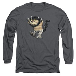 Where The Wild Things Are - Mens Carol Long Sleeve T-Shirt