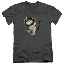 Where The Wild Things Are - Mens Carol V-Neck T-Shirt