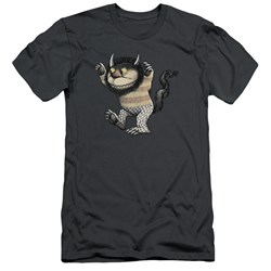 Where The Wild Things Are - Mens Carol Slim Fit T-Shirt