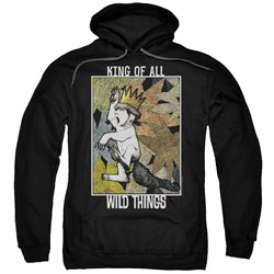 Where The Wild Things Are - Mens King Of All Wild Things Pullover Hoodie