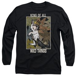 Where The Wild Things Are - Mens King Of All Wild Things Long Sleeve T-Shirt