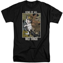 Where The Wild Things Are - Mens King Of All Wild Things Tall T-Shirt