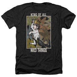 Where The Wild Things Are - Mens King Of All Wild Things Heather T-Shirt