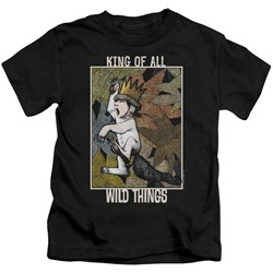 Where The Wild Things Are - Youth King Of All Wild Things T-Shirt