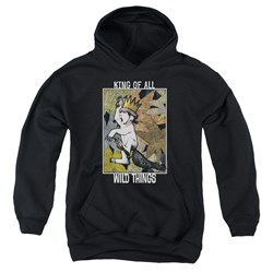 Where The Wild Things Are - Youth King Of All Wild Things Pullover Hoodie