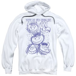 Where The Wild Things Are - Mens Wild Sketch Pullover Hoodie