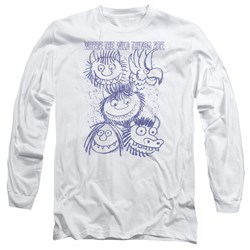 Where The Wild Things Are - Mens Wild Sketch Long Sleeve T-Shirt
