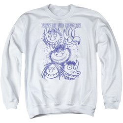 Where The Wild Things Are - Mens Wild Sketch Sweater