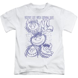 Where The Wild Things Are - Youth Wild Sketch T-Shirt