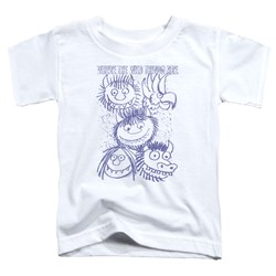 Where The Wild Things Are - Toddlers Wild Sketch T-Shirt