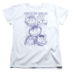 Where The Wild Things Are - Womens Wild Sketch T-Shirt