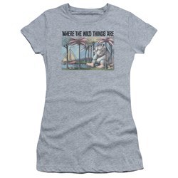 Where The Wild Things Are - Juniors Cover Art T-Shirt