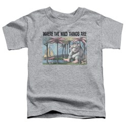 Where The Wild Things Are - Toddlers Cover Art T-Shirt