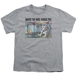 Where The Wild Things Are - Youth Cover Art T-Shirt
