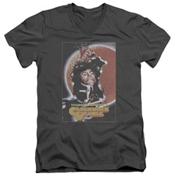 A Clockwork Orange - Mens Distressed Poster V-Neck T-Shirt