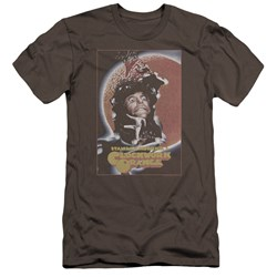 A Clockwork Orange - Mens Distressed Poster Premium Slim Fit T-Shirt