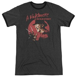 Nightmare On Elm Street - Mens Freddy Circle Ringer T-Shirt