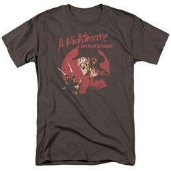 Nightmare On Elm Street - Mens Freddy Circle T-Shirt