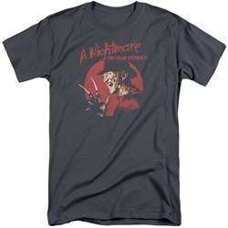 Nightmare On Elm Street - Mens Freddy Circle Tall T-Shirt