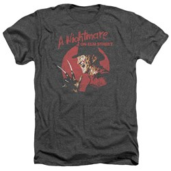 Nightmare On Elm Street - Mens Freddy Circle Heather T-Shirt