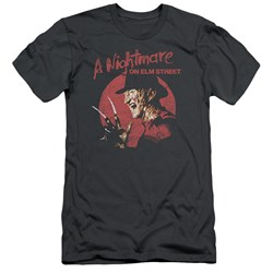 Nightmare On Elm Street - Mens Freddy Circle Slim Fit T-Shirt