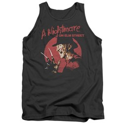Nightmare On Elm Street - Mens Freddy Circle Tank Top