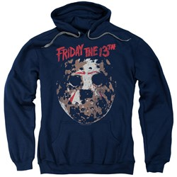 Friday The 13Th - Mens Rough Mask Pullover Hoodie