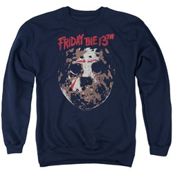 Friday The 13Th - Mens Rough Mask Sweater