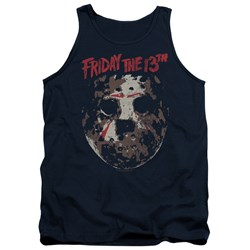 Friday The 13Th - Mens Rough Mask Tank Top