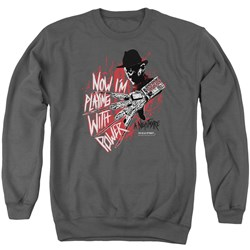Nightmare On Elm Street - Mens Playing With Power Sweater