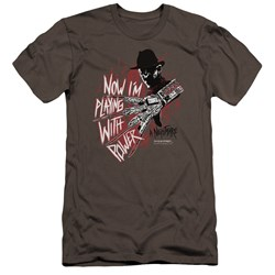 Nightmare On Elm Street - Mens Playing With Power Premium Slim Fit T-Shirt