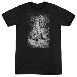 Corpse Bride - Mens Bird Dissolve Ringer T-Shirt