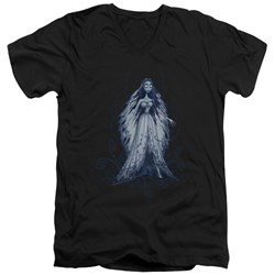 Corpse Bride - Mens Vines V-Neck T-Shirt