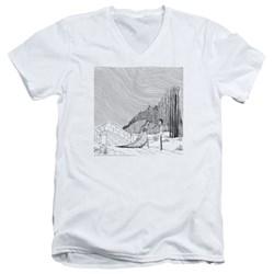 Corpse Bride - Mens My Darling V-Neck T-Shirt
