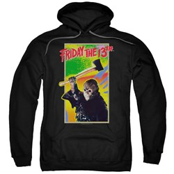 Friday The 13Th - Mens Retro Game Pullover Hoodie