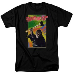 Friday The 13Th - Mens Retro Game T-Shirt