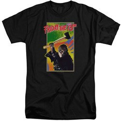 Friday The 13Th - Mens Retro Game Tall T-Shirt