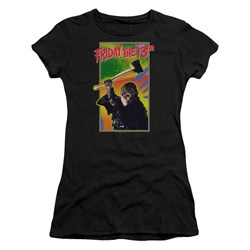Friday The 13Th - Juniors Retro Game T-Shirt