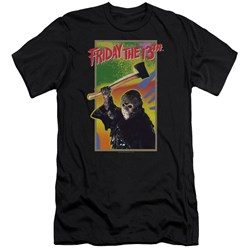 Friday The 13Th - Mens Retro Game Premium Slim Fit T-Shirt
