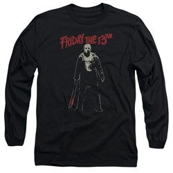 Friday The 13Th - Mens Chchch Ahahah Long Sleeve T-Shirt