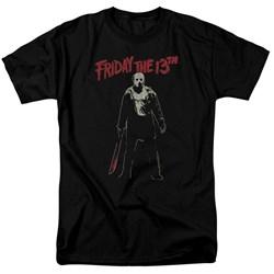 Friday The 13Th - Mens Chchch Ahahah T-Shirt