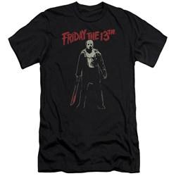 Friday The 13Th - Mens Chchch Ahahah Premium Slim Fit T-Shirt